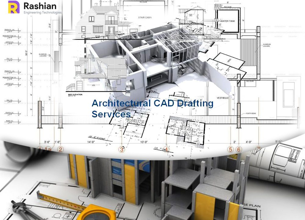 Ensure of the less error during the construction of building with the architectural CAD drafting services